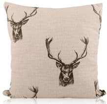 Handmade Freytts Stag Head Cushions Various Sizes