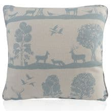 Handmade Voyage Maison  Cairngorms Duck Egg Cushions Various Sizes