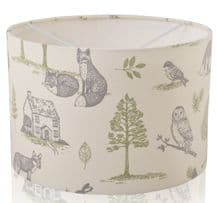 New Woodland Forest Natural Lampshade, Ceiling Light / Table Lamp