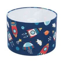 Outer Space Blue Lampshade / Ceiling Light