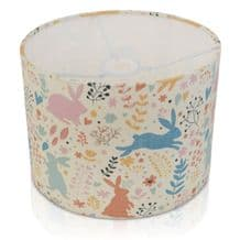 Pastel Rabbit and Hares Lampshade Ceiling or Table