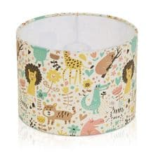 Pastel Zoo Animal Lampshade Ceiling or Table