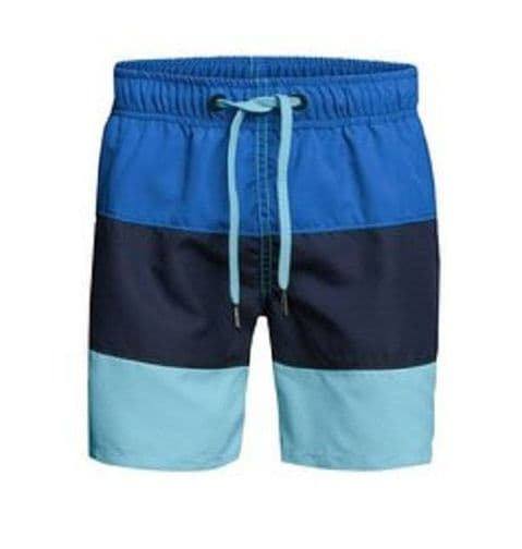 Bjorn Borg Men's Colour block Swim Short In Blue (152158- 70061)