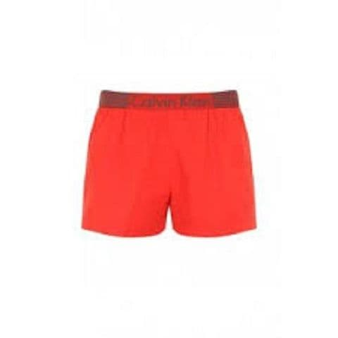Calvin Klein Short Drawstring Swimshorts in Mango (K9MC094028)
