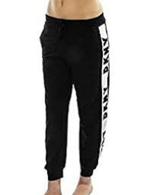 DKNY Spell It Out PJ Jogger Bottoms in Black (2719352)