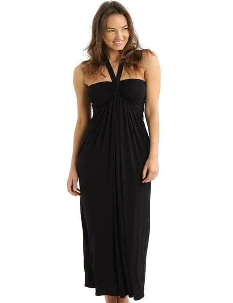 Fantasie Aphrodite Halterneck Maxi Dress In Black (5018)
