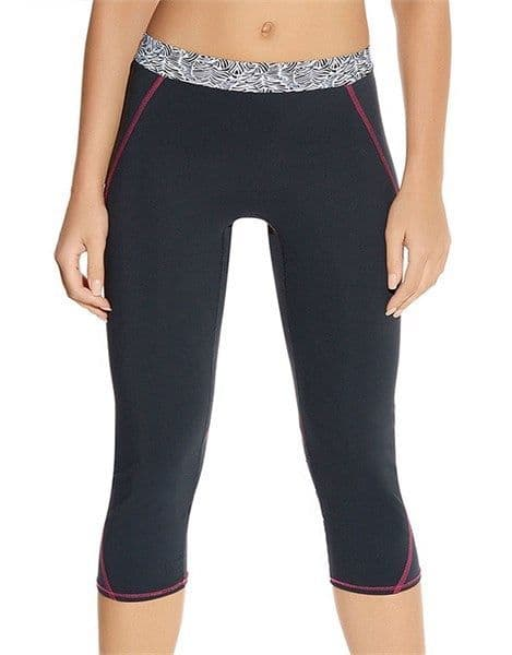 Freya Active Performance Capri Sports Pants in Zinc Print (4005)
