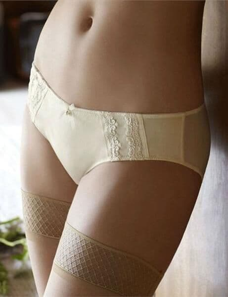 Masquerade Hestia Brief In Ivory  (4544 )