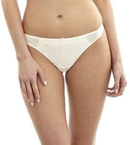 Panache Evie Bridal Thong  In Ivory (6119)