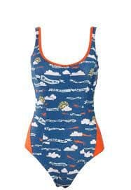Red Or Dead Fly By Swimming Costume (2891)