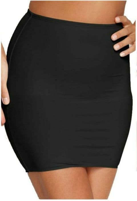 Wacoal Try A Little Slenderness Half Slip In Black ( 802365)