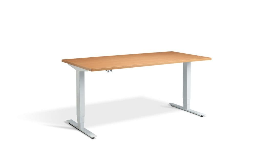 Angeo Electrical Sit-Stand Height Adjustable Desk with Dual Motor System