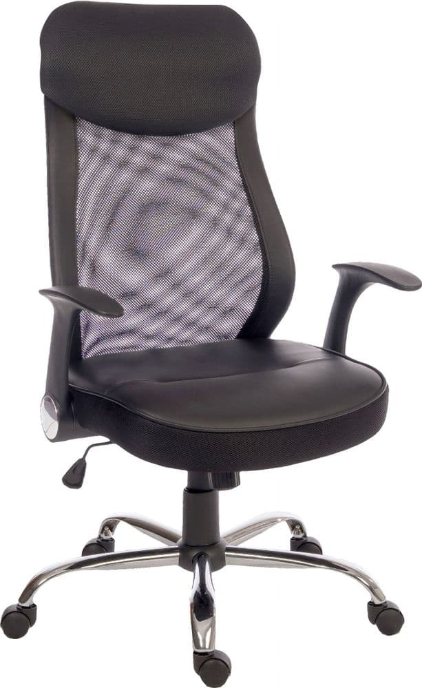 TEKNIK CURVE MESH Executive Mesh Office Chair in Black