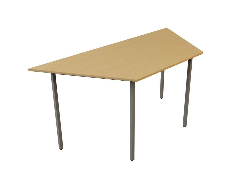 Trapezoidal Meeting Table, 18mm Top, Fully Welded Table, Choice of Table Finish, Leg Frame, Sizes