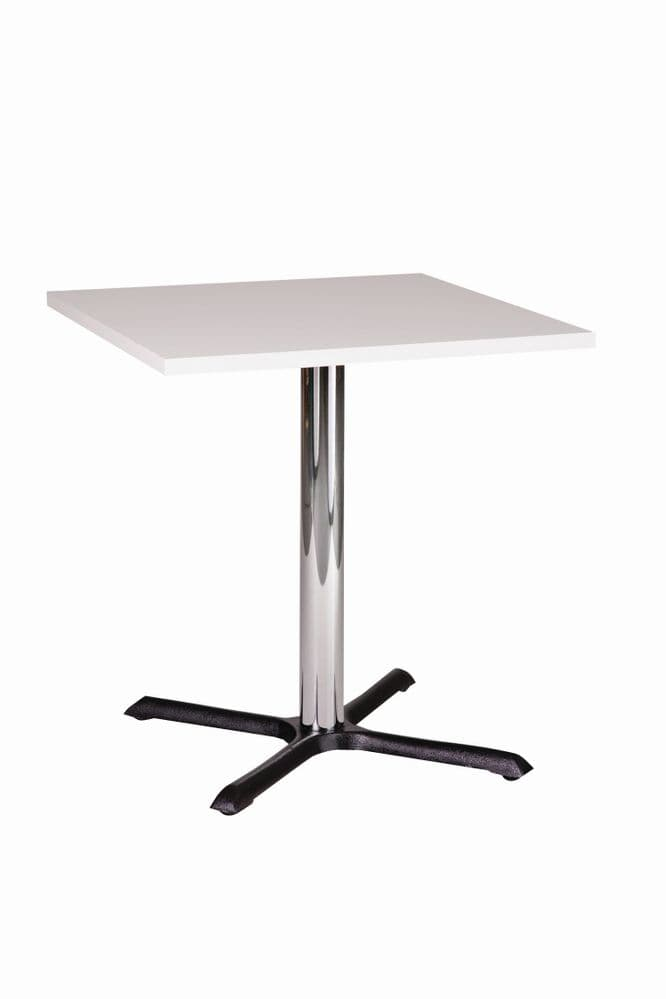 Café Table with Laminate Wood Finish, Various Colours Available 600mm x 600mm