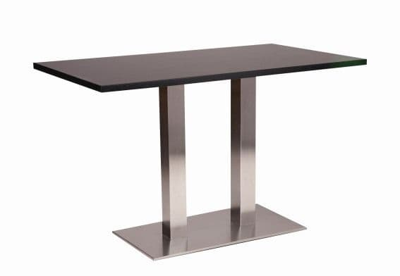 Café Table with Melamine Finish, Various Colours Available 1200mm x 800mm