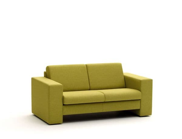 Pledge Crisp Two Seat Sofa with Arms