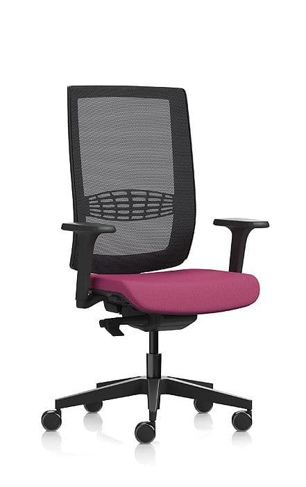Pledge Kind Mesh Task And Operating Chair With Hard Castors