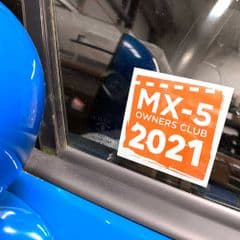 2021  Windscreen Sticker