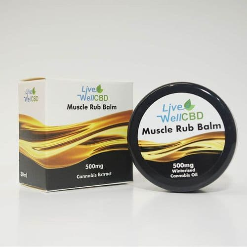 Live Well CBD – Muscle Rub Balm