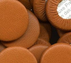 Premium Deluxe Leather Pad 10mm x 3mm (Tan)