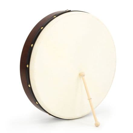 "Walton's 18"" Irish Bodhran & Case"