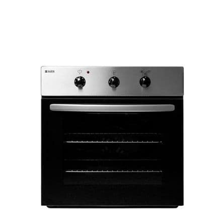 Haden HSB105X Built In 64 Litre 5 Function Electric Single Oven - Stainless Steel