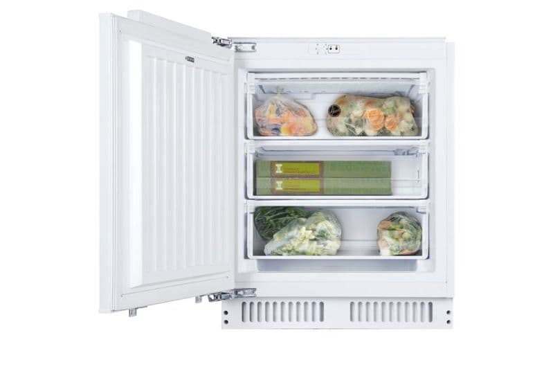 Hoover HBFUP130NK Built Under Static 3 Draw A+ Freezer - White