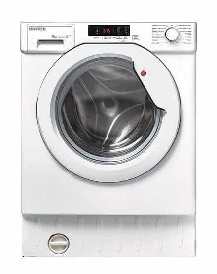 Hoover HBWM915D-80  Integrated 9kg 1500 Spin Washing Machine - White