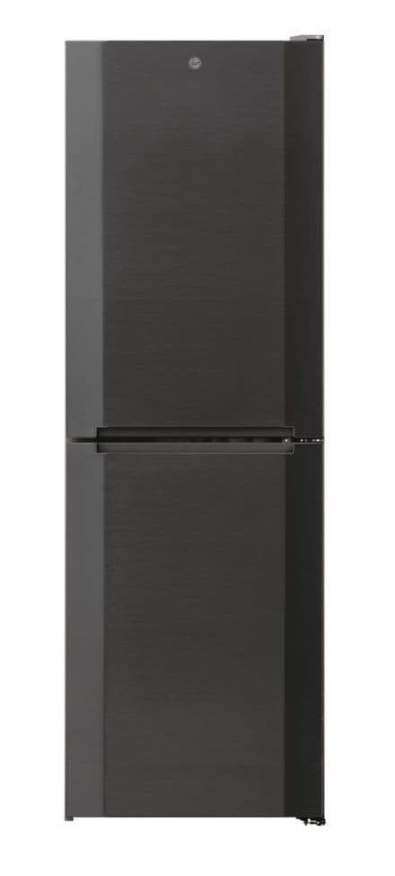 Hoover HMNB6182DX5KN 50/50 Split 185cm High 60cm Wide Frost Free Fridge Freezer – Stainless INOX