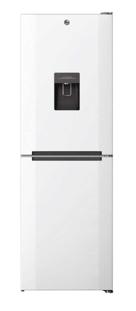 Hoover HMNB6182W5WDKN 50/50 Split 185cm High 60cm Wide Frost Free Fridge Freezer – White