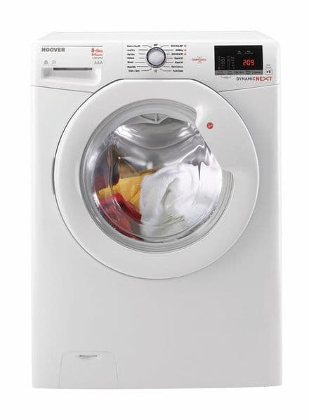 Hoover WDXOC485A Dynamic NEXT 8kg Wash 5kg Dry 1400 Spin Freestanding Washer Dryer - White