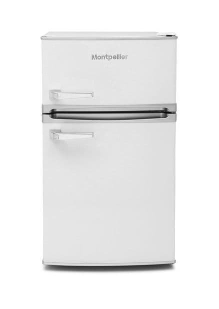 Montpellier MAB2031W 48cm Wide A+ Retro Undercounter Fridge Freezer – White