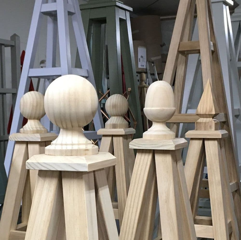 Accoya Finial