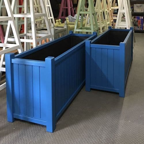 Bespoke Custom Size Planter, Accoya Wooden Garden Planters Painted any Colour