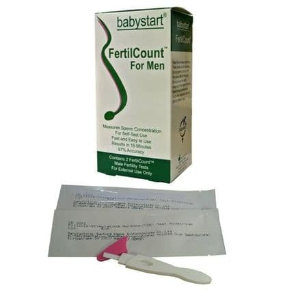2 x BabyStart Male Fertility Test and 2 x Female Fertility Tests Pack