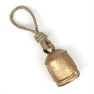 Large Cow Bell on String