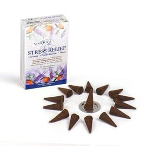 Stress Relief Incense Cones with Holder
