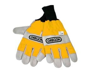 Oregon 295399 Chainsaw Gloves Both Hands Protection Large (10) - 295399L
