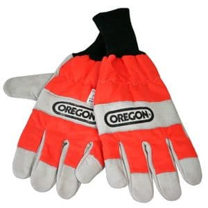 Oregon 91305 Chainsaw Gloves L/Hand Protection Small (8) - 91305S