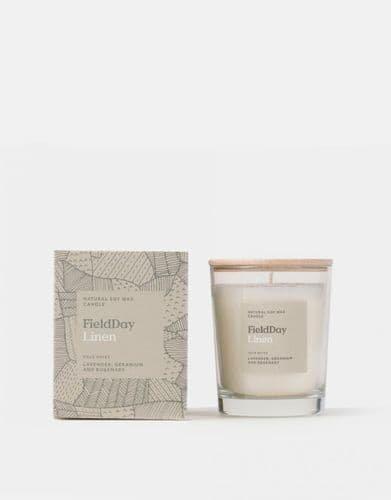 Field Day Linen Large Candle