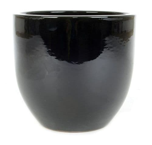 June Egg Pot- Black