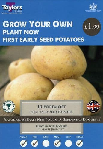 Special Seed Potato 'Foremost'