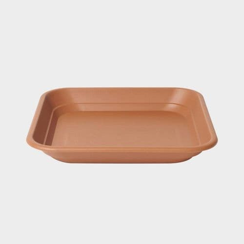 Square Balconniere Tray- Terracotta