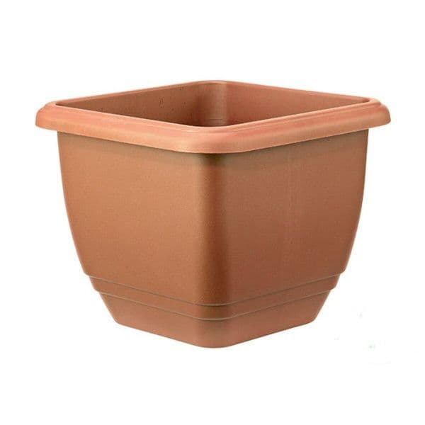 Square Balconniere Trough- Terracotta