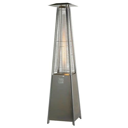 Stainless Steel Flame Tower Patio Heater- FREE COVER!