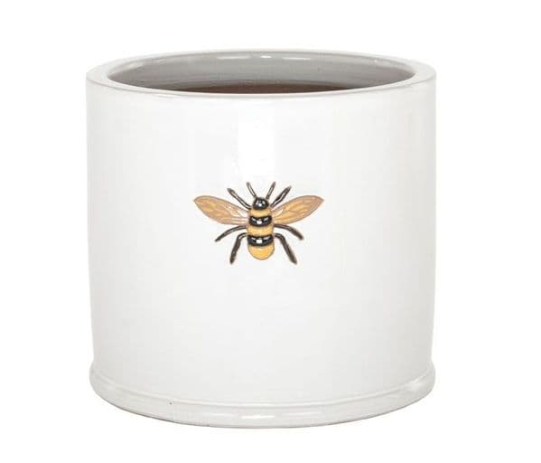 Wisteria  Bumble Bee Pot- Cream
