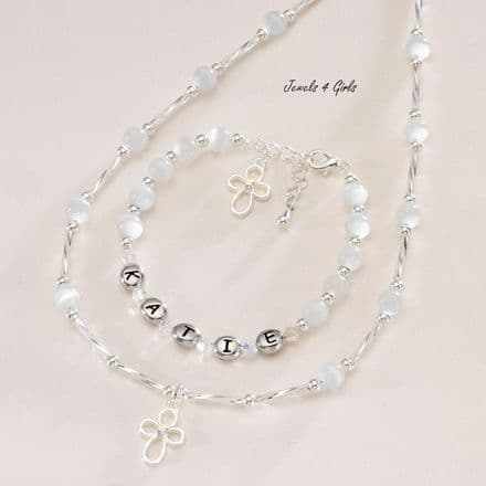 Any Name,  Girls First Holy Communion Jewellery Set