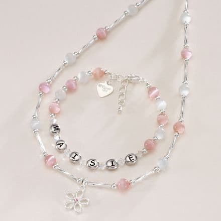 Any Name Jewellery with Message Charm