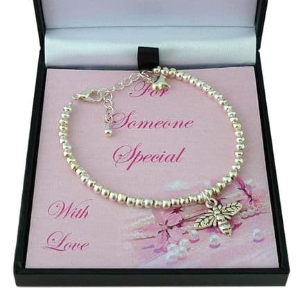 Bee Bracelet in Gift Box  for Daughter, Goddaughter, Mum etc